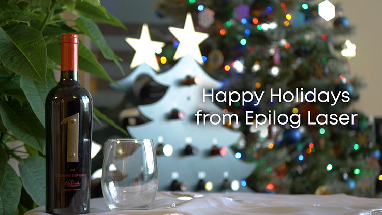 Happy Holidays from Epilog Laser!